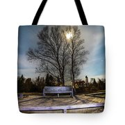 Moon Shadow Iroquois Point -1462 Tote Bag