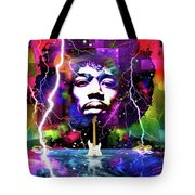 Moon, Turn The Tides, Gently Gently Away Tote Bag
