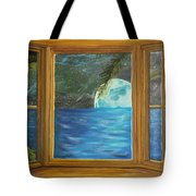 Moon Window Tote Bag