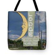 Moon Winx Lodge Sign Tote Bag