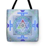 Moon Yantra Tote Bag