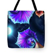 Moonflowers Tote Bag