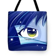 Moonie Tote Bag by Sandra Hoefer