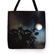 Moonlight And Tree 2 Tote Bag