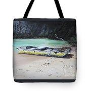 Moonlight At Gold Rock Creek Tote Bag