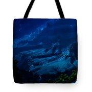Moonlight At Grand Canyon Tote Bag