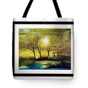 Moonlight At Masinagudi Tote Bag