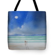 Moonlight At The Beach II Tote Bag