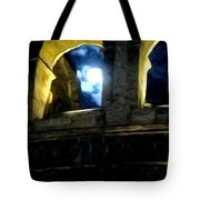 Moonlight At The Colosseum Tote Bag
