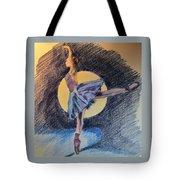 Moonlight Ballerina Tote Bag