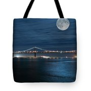 Shimmering In The Moonlight Tote Bag