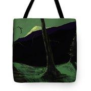 Moonlight In The Rockies Tote Bag