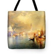 Moonlight In Venice Tote Bag