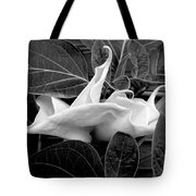 Moonlight/moonflower Tote Bag