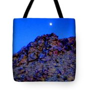 Moonlight Over Peggy's Mountain Tote Bag