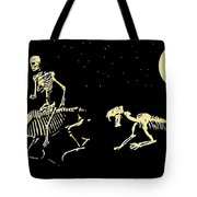 Moonlight Run Tote Bag