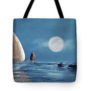 Moonlight Sailnata 4 Tote Bag