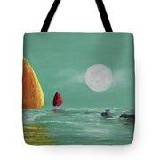Moonlight Sailnata Tote Bag