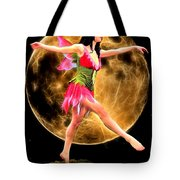 Moonlight Stroll Of A Fairy Tote Bag