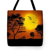 Moonlight, Supermoon Tote Bag