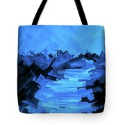 Moonlight Trek Tote Bag