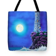 Moonlight Vigil Tote Bag