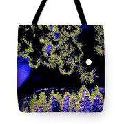 Moonlit High Country Tote Bag