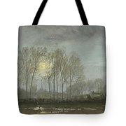 Moonlit Landscape Tote Bag