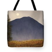 Moonlit Mountain Meadow Tote Bag