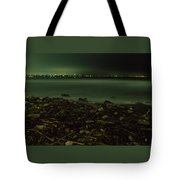 Moonlit Night - The Point Tote Bag