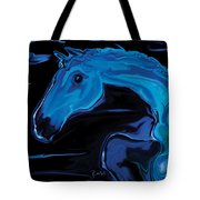 Moonlit Run Tote Bag