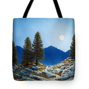 Moonlit Trail Tote Bag