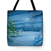Moonlit Tranquility Tote Bag