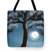 Moonlit Tree Tote Bag