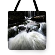 Moonlit Waterfall Tote Bag