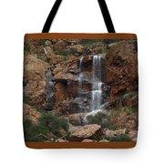 Moonlit Waterfall Tote Bag