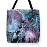 Moonlit Wisdom  Tote Bag