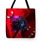 Moonlite Poppy Drops Tote Bag