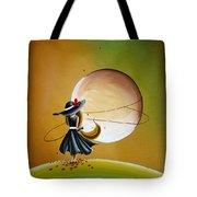 Moonrise Tote Bag by Cindy Thornton