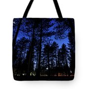 Moonrise In The Woods Tote Bag by Margaret Pitcher
