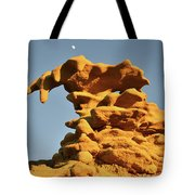 Moonrise Over Fantasy Canyon Hoodoo Tote Bag