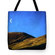 Moonrise Over Queenstown Tote Bag