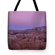 Moonrise Over The Hoodoos Bryce Canyon National Park Utah Tote Bag