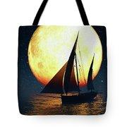 Moonsailor Tote Bag