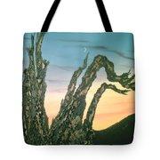 Moonset-bristlecone Pine Tote Bag