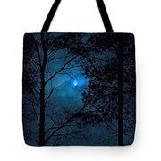 Moonshine 10 Blue Sky Tote Bag