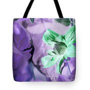 Moonwalk Clematis Tote Bag