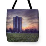 Moor Tower Sunset Tote Bag