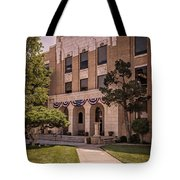 Moore County Courthouse Tote Bag