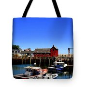 Moored Boats Tote Bag